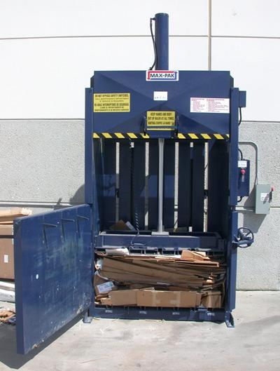 Vertical Balers Resource Equipment