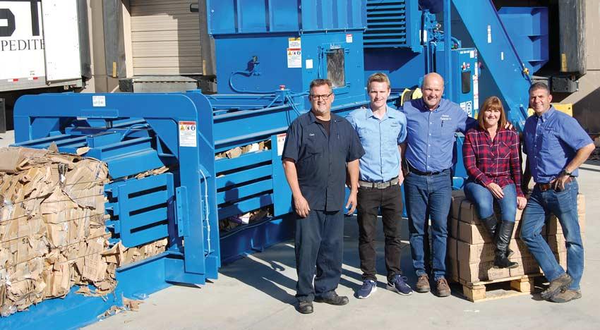 Resource Equipment Company group photo