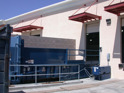 Industrial and Commercial Waste Compactors for Recycling on