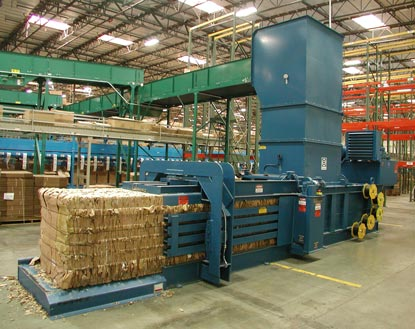 Industrial Waste Recycling Balers