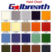 Galbreath Color Chart