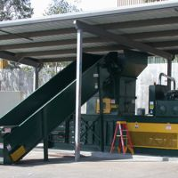 Covered Above-Ground Conveyor