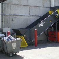 Shredder with Conveyor Feed