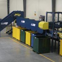 Small sorting line conveyor
