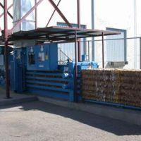 Used/reconditioned baler w/conveyor