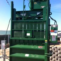 Reconditioned vertical balers
