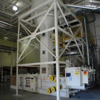 Auto-tie Air Separator System Installed inside